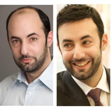 hombre con peluca Danien antes y después